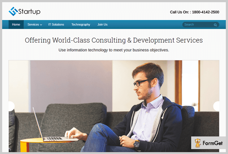 Startup Corporate WordPress Themes