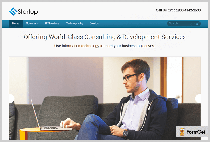 Startup WordPress themes for startups