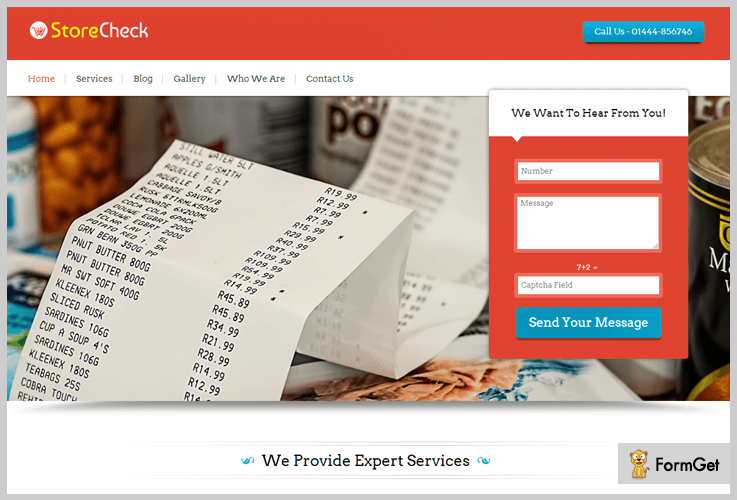 Store Check Grocery Store WordPress Theme