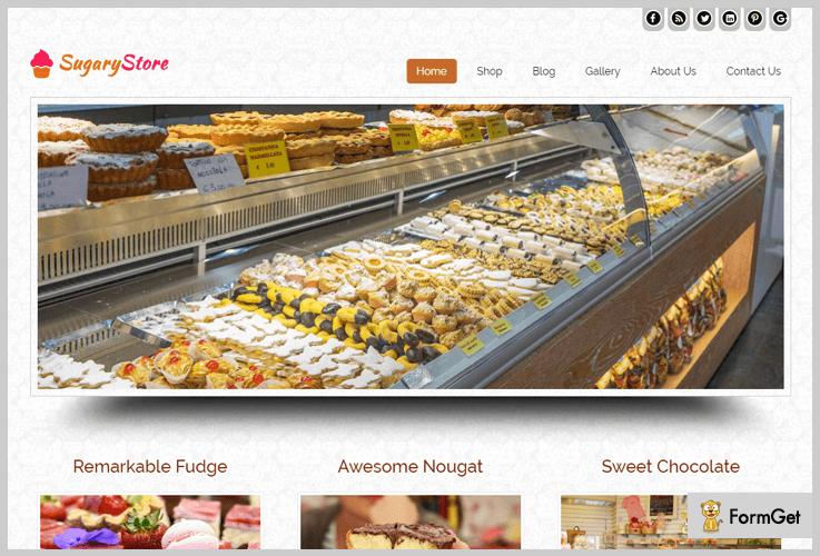 SugaryStore Shop WordPress Themes