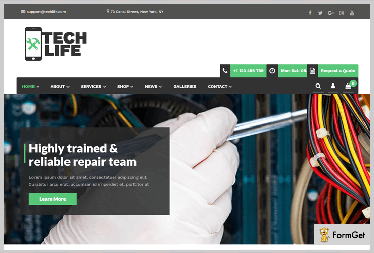 TechLife Tech WordPress Theme