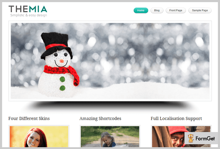 Themia Lite Book Store WordPress Theme