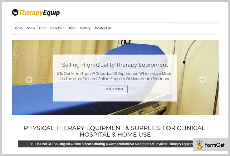 Therapy Equip Physiotherapy WordPress Theme