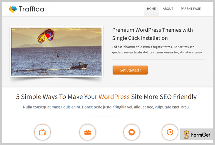 traffica Booking WordPress Themes