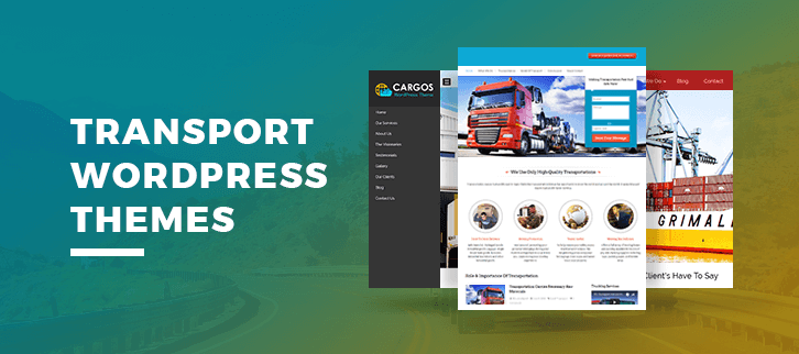 Transport WordPress Themes