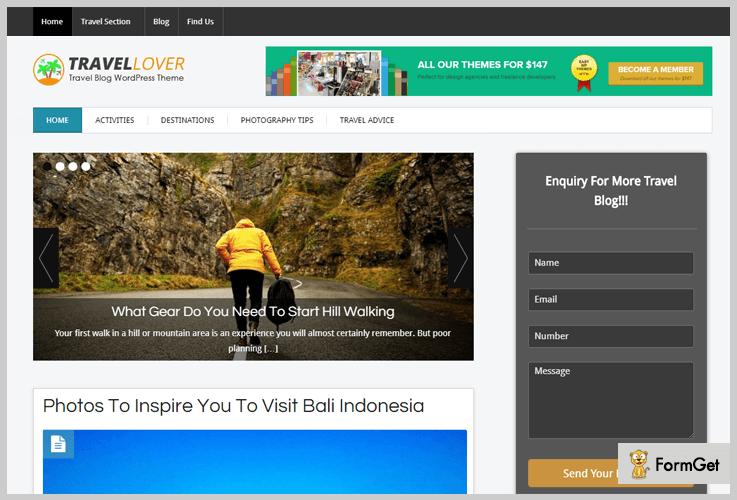 Blog Magazine WordPress Themes