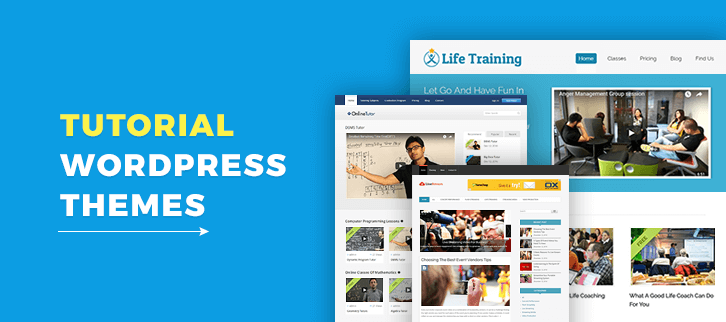 5 Tutorial WordPress Themes 2018 (Free and Paid)