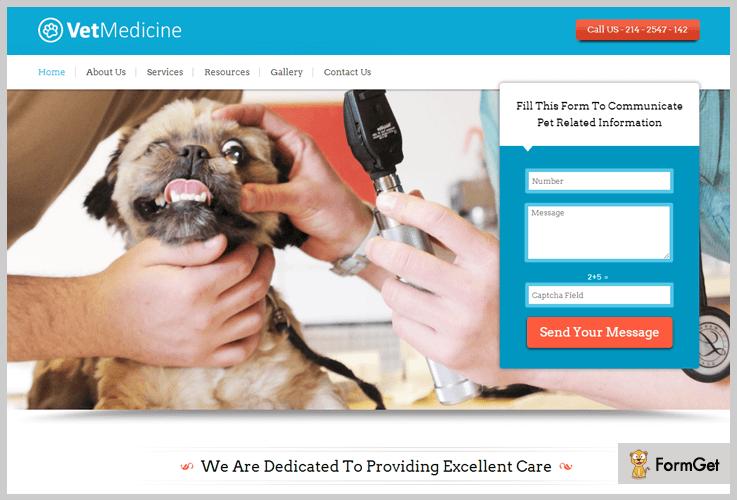 VetMedicine Veterinary WordPress Theme