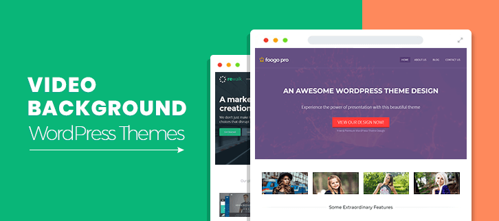Video Background WordPress Themes
