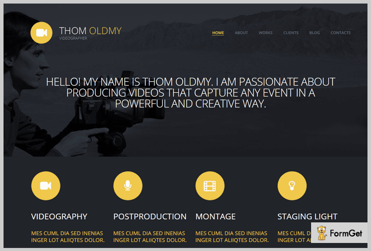 Video Production WordPress Theme
