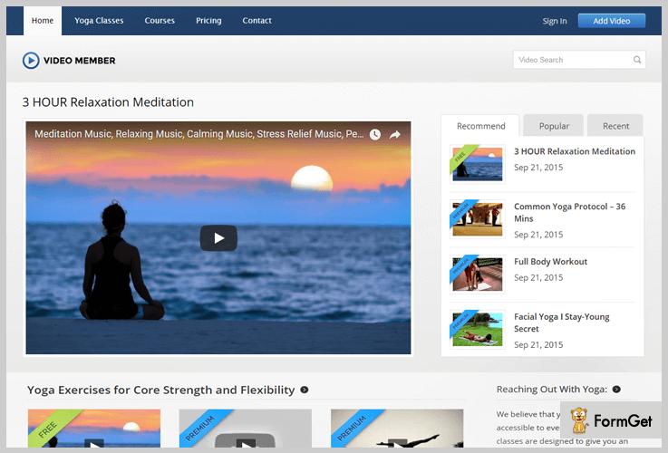 Video Member Videographer WordPress Theme