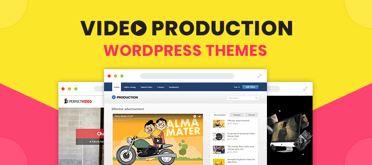 Video Production WordPress Themes