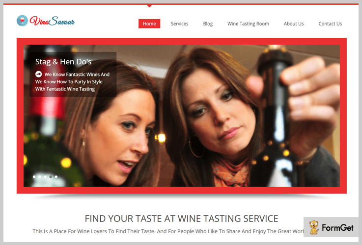 Vinosavour Wine WordPress Themes