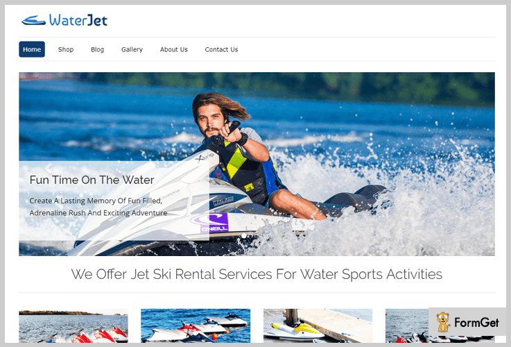 WaterJet - Vacation Rental WordPress Themes
