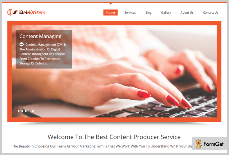 WebWriters Writer WordPress Theme