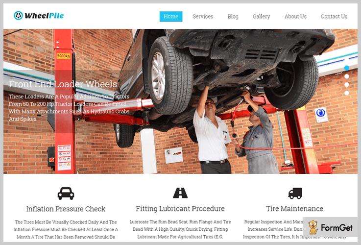 WheelPile Logistics WordPress Theme