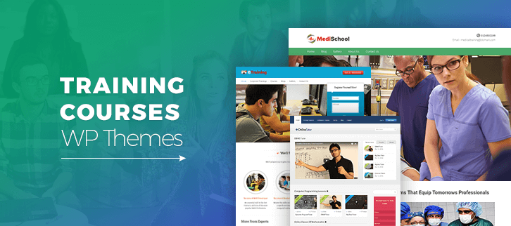 WordPress Themes For Training Courses