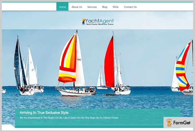 YachtAgent Sailing WordPress Theme