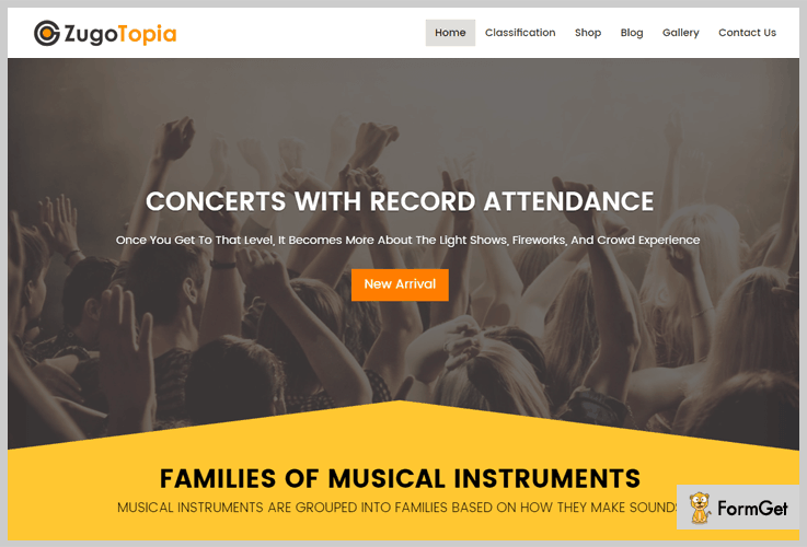 ZugoTopia Fullscreen WordPress Theme