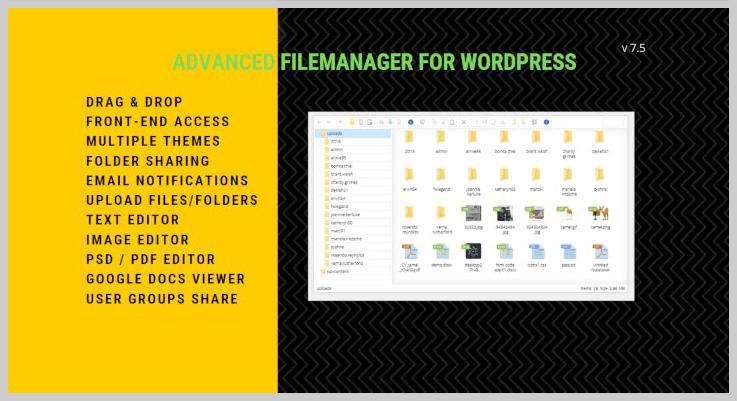 File Manager Plugin - Document Management WordPress Plugins