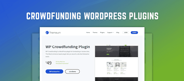 Crowdfunding WordPress Plugins