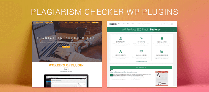 Plagiarism Checker WordPress Plugins