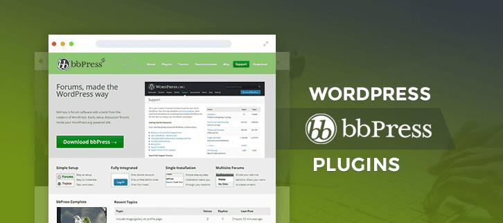 WordPress bbPress Plugins