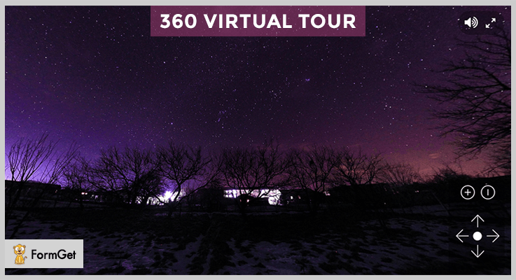 360 Virtual Tour jQuery Panorama Plugin