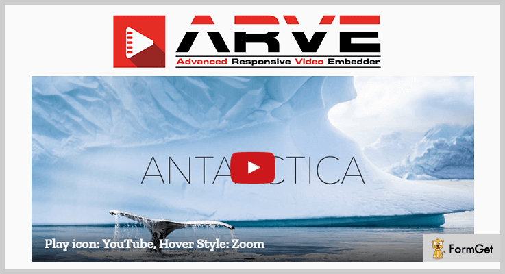 ARVE Video Embedder