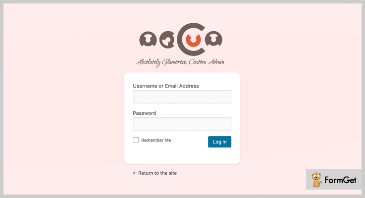 Absolutely Glamorous Custom Admin White Label WordPress Plugin