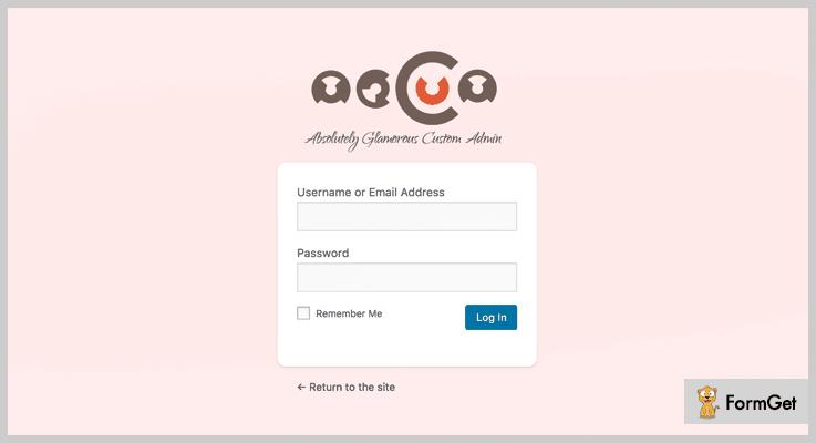 Absolutely Glamorous Custom Admin White Label WordPress Plugin