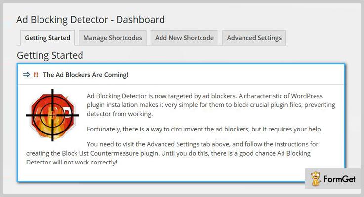 Ad Blocking Detector Anti Adblock WordPress Plugins