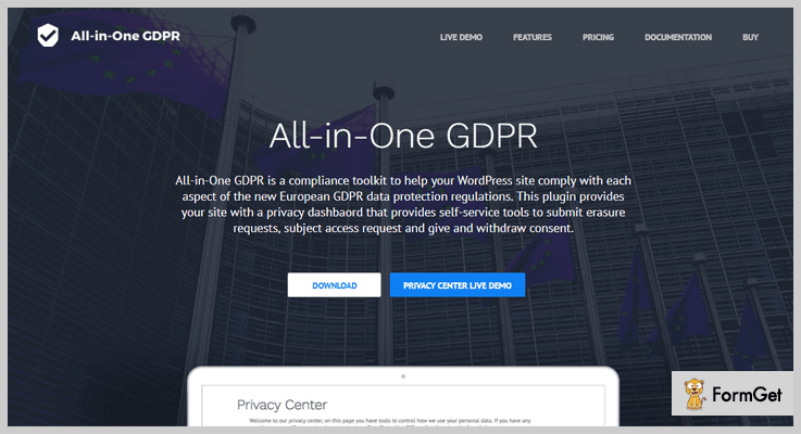 All in One GDPR WordPress Plugin