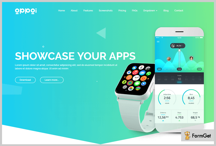 Appai App WordPress Theme