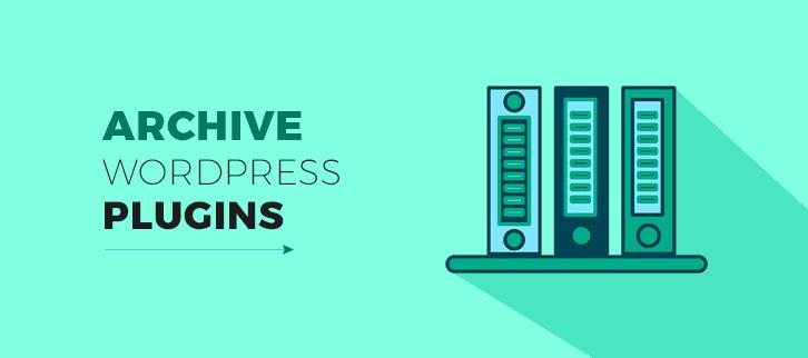 Archive WordPress Plugins