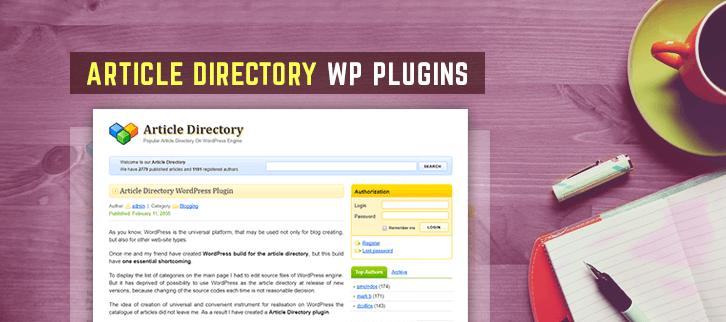Article Directory WordPress Plugins
