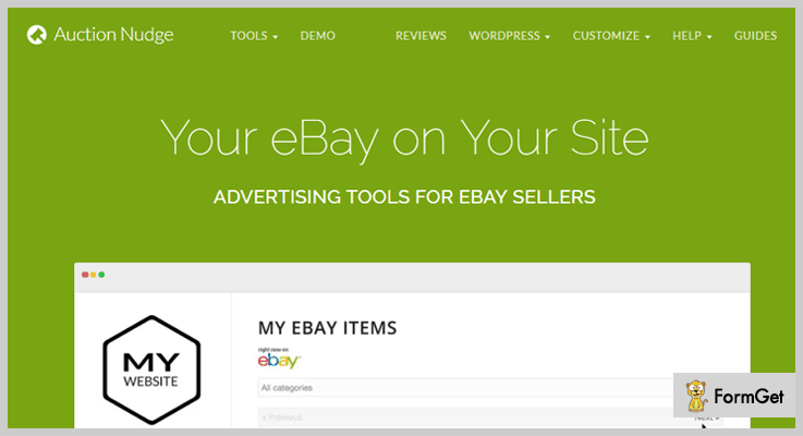 Auction Nudge – WordPress eBay Plugins