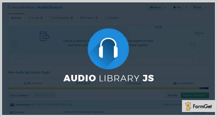 AudioLibraryJs jQuery Plugin