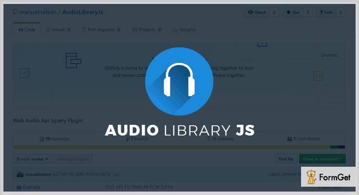 AudioLibraryJs jQuery Plugin