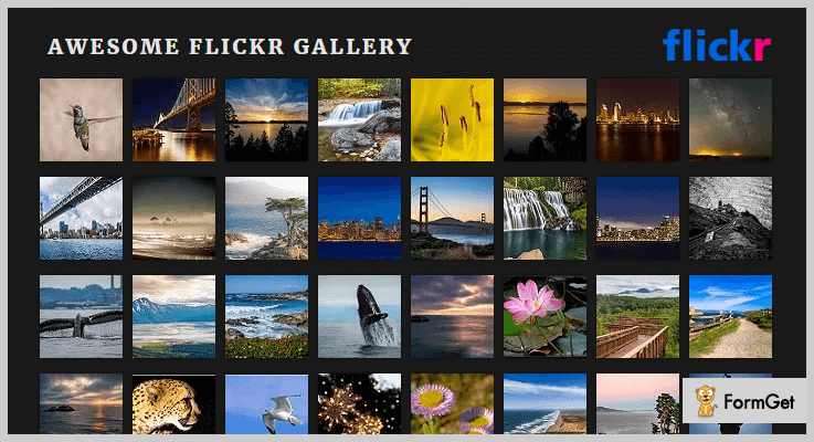 Awesome Flickr Gallery Flickr WordPress Plugin