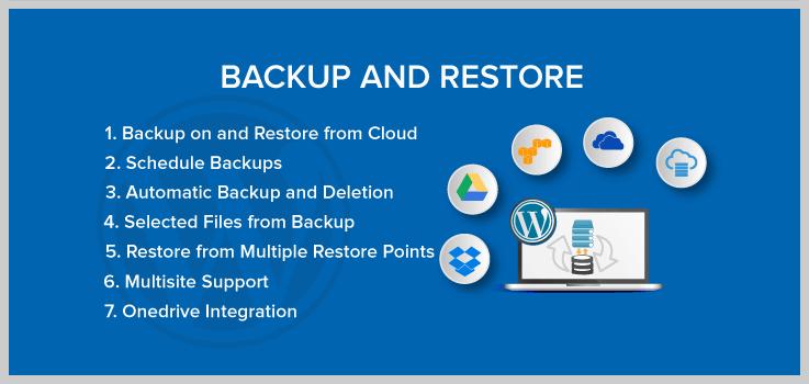 Backup And Restore - Dropbox WordPress Plugins