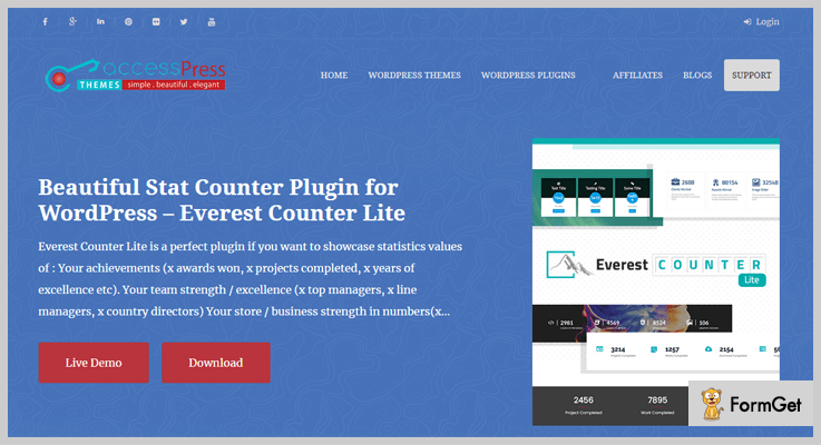 Everest Counter Lite WordPress Stats Plugins