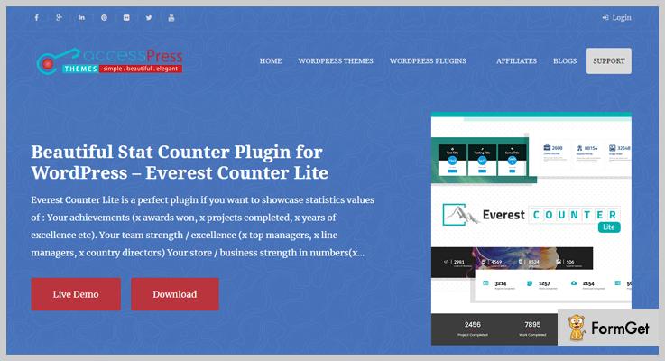 Everest Counter Lite WordPress Stats Plugins