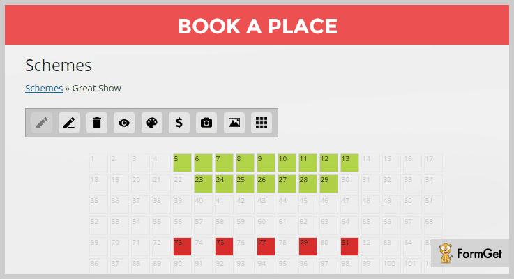 Book a Place WordPress Cinema Plugins