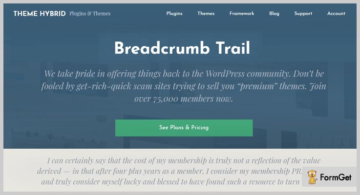 Breadcrumb Trail Breadcrumbs WordPress Plugin