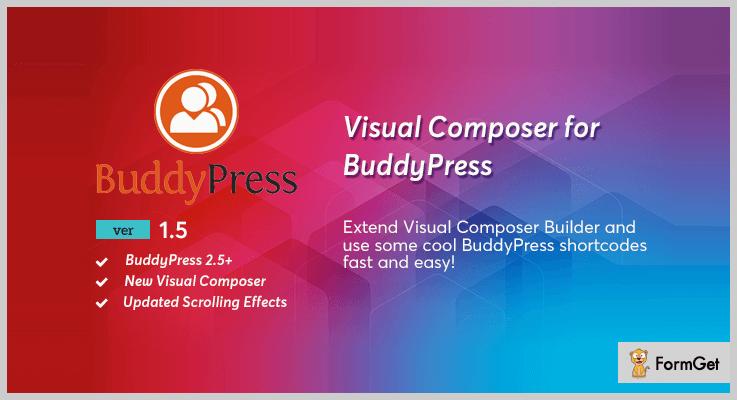 BuddyPress for Visual Composer WordPress Plugin