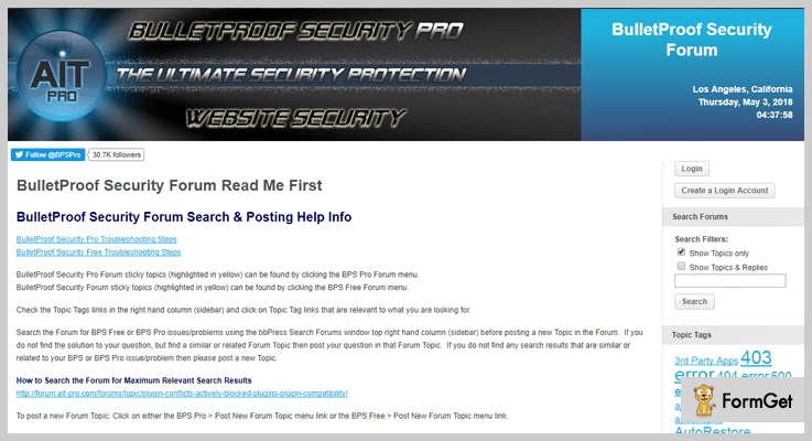 BulletProof Security WordPress Firewall Plugin