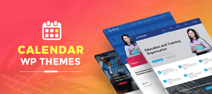 4 Best Calendar WordPress Themes 2018