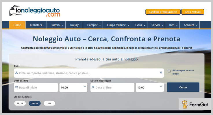 Car Rental Booking Engine WordPress Plugin