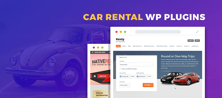 Car Rental WordPress Plugins